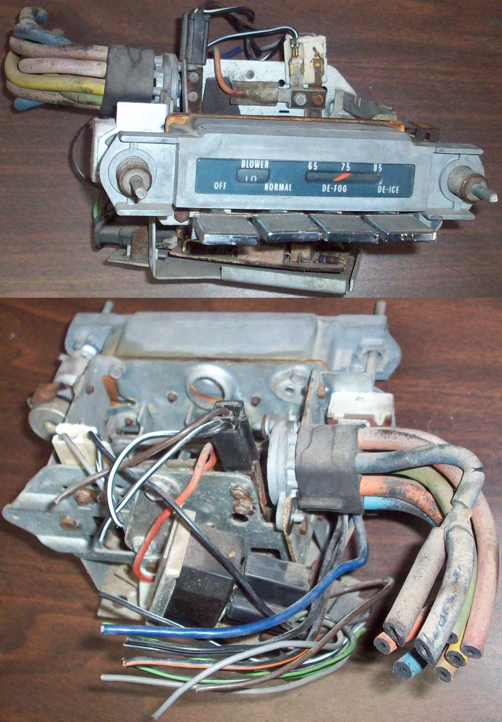 hight resolution of 1964 pontiac tempest heat control