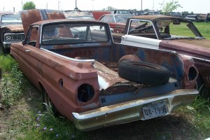 1964 Ford falcon ranchero parts