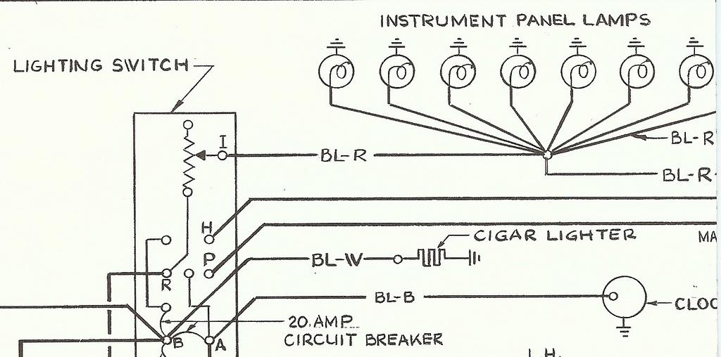 1955 Electrical Wiring Schematic Suppliment #110-41-5