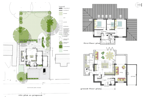 residential development and extension