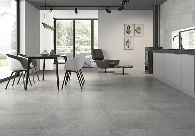 gray tile kitchen floor easy to do backsplash options a guide tiling your rock tiles