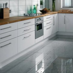 Grey Kitchen Tile Aid Stand Mixer Attachments Floor Options A Guide To Tiling Your High Gloss Tiles
