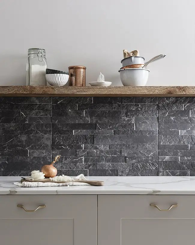 kitchen wall tiles boos block island read about textured stone effect ctd
