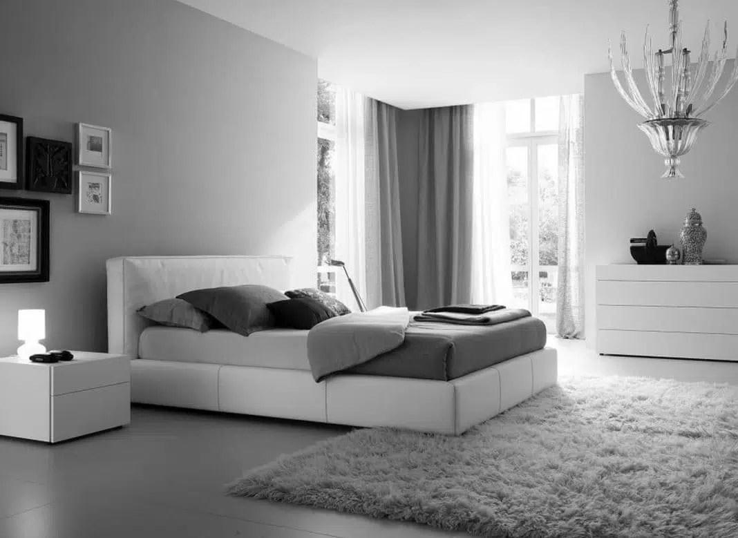 chambre en gris et blanc toutes nos