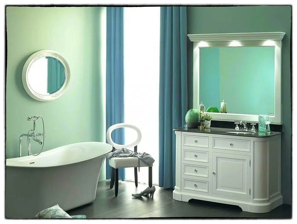 meubles salle de bain vintage photos