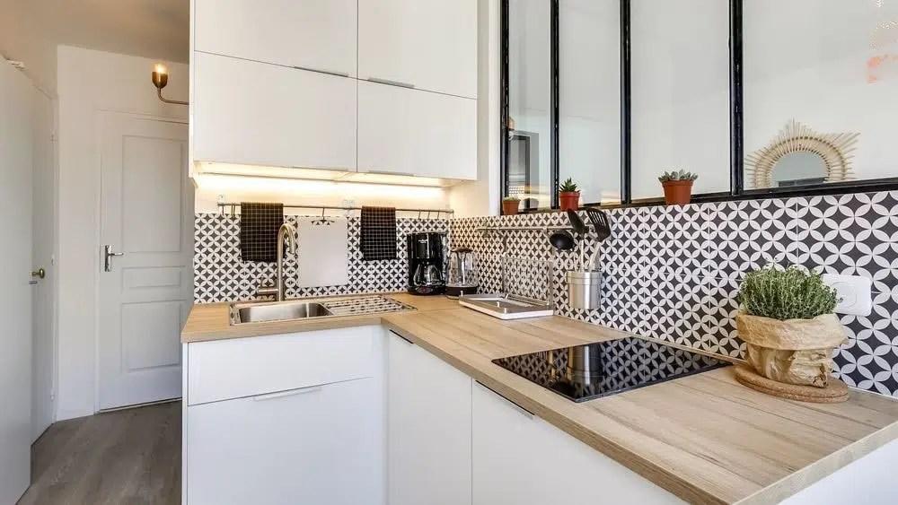 petite cuisine moderne photos idees