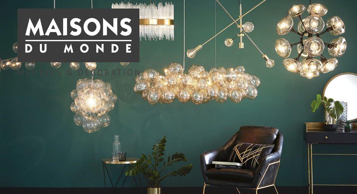 lustre maisons du monde 30 modeles de lustre pour vos plafonds