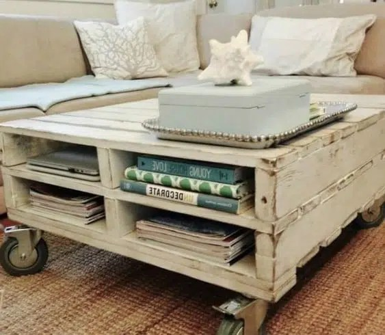 table basse palette 28 idees a
