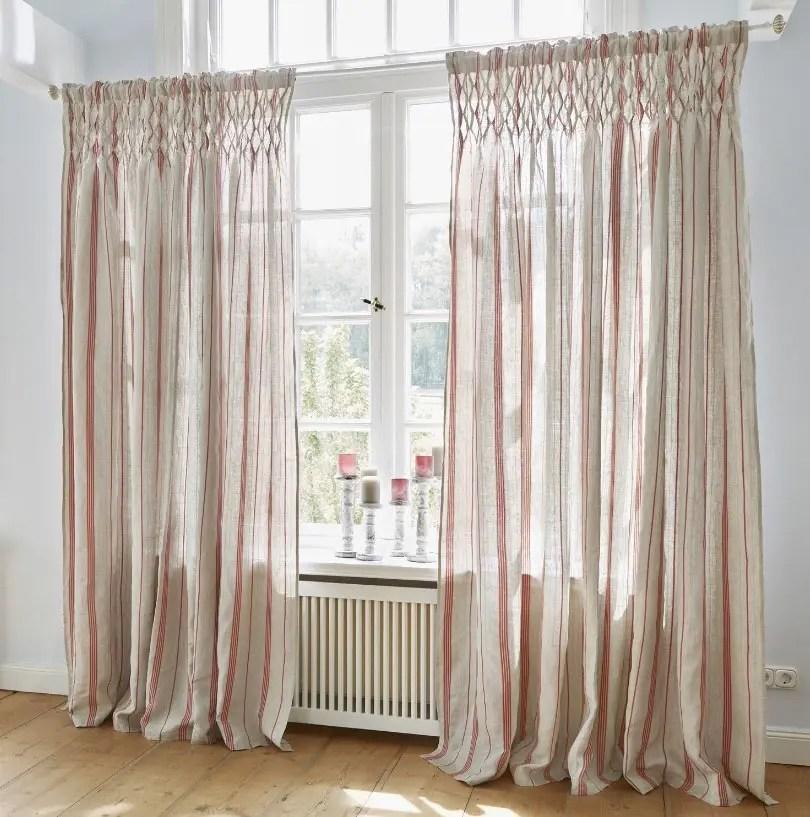 rideaux couleur lin en decoration les