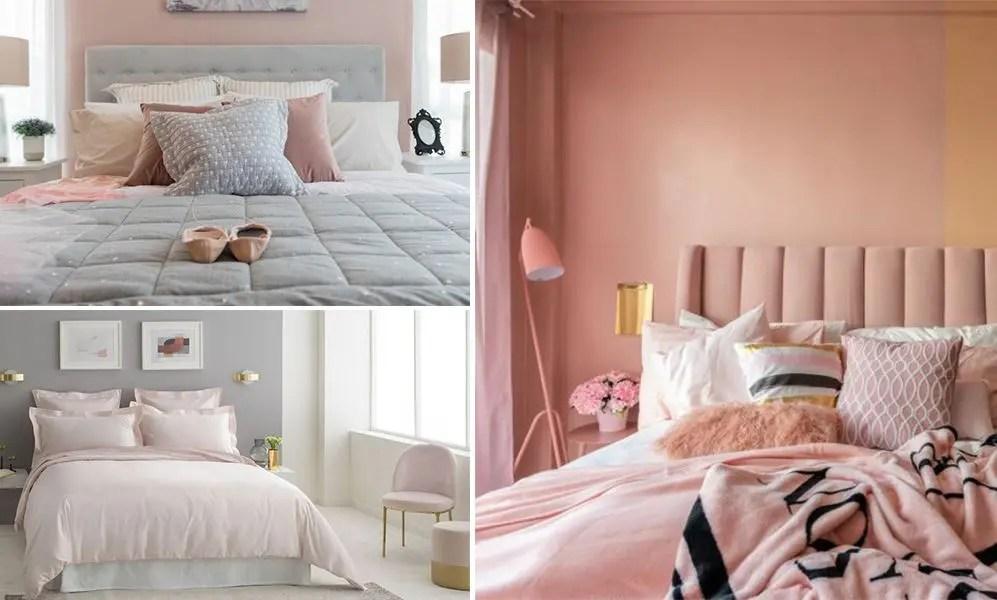 chambre rose poudre les plus belles