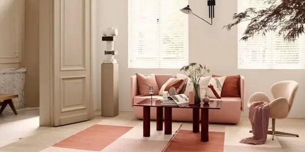 tapis rose poudre les plus beaux
