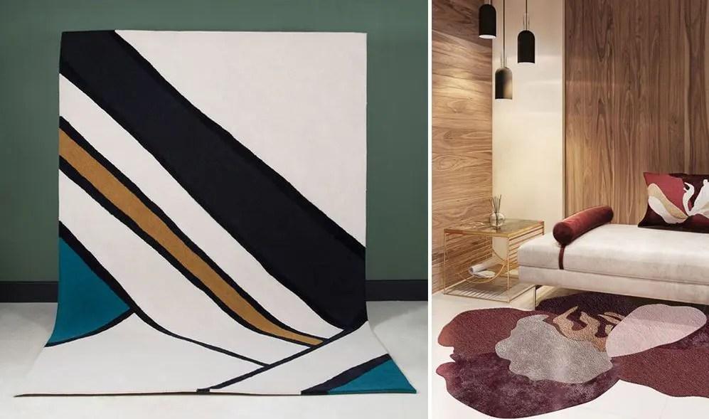 tapis moderne pour le salon les plus