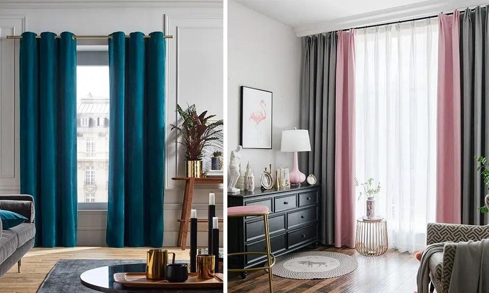 de rideaux choisir pour un salon gris