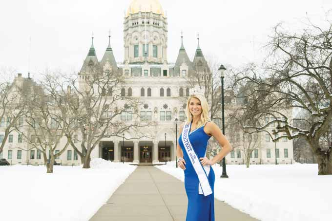 Kimberly Beaudoin of Connecticut is competing for Miss USA Universal in Reno, Nev. this week.