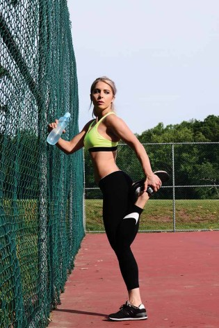 Lori-Ann Marchese says its important to keep hydrated during your summer workouts.