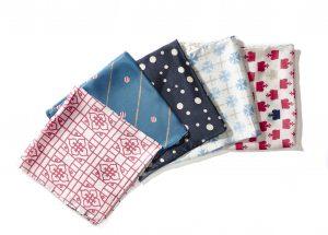 Some pocket squares, courtesy of Squareboss