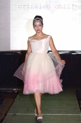 Crinkled Chiffon at Hartford Fashion Week.