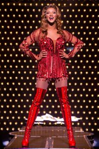 J. Harrison Ghee is 'Lola' in 'Kinky Boots' at Waterbury's Palace Theater this week.