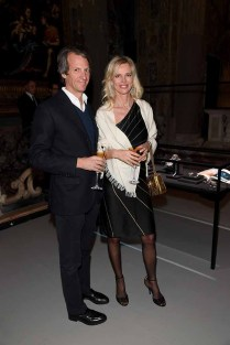 MILAN, ITALY - JANUARY 14: Fabrizio Crespi and Tatjana Behrendt attend 'David Yurman - Where Design Meets Art' during Milan Men's Fashion Week Fall/Winter 2017/18 on January 14, 2017 in Milan, Italy. (Photo by Venturelli/Getty Images for David Yurman) *** Local Caption *** Fabrizio Crespi; Tatjana Behrendt