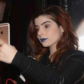PARIS, FRANCE - JANUARY 23: Beauty influencers Elsamakeup attends the Kat Von D Beauty opening weekend with influencers at Sephora Champs-Elysees on January 23, 2017 in Paris, France. (Photo by Dominique Charriau/Getty Images for Sephora) *** Local Caption *** Elsamakeup