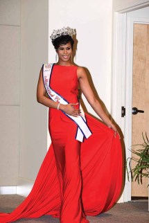 Charrisse Gudger is the new Miss Black Connecticut USA.