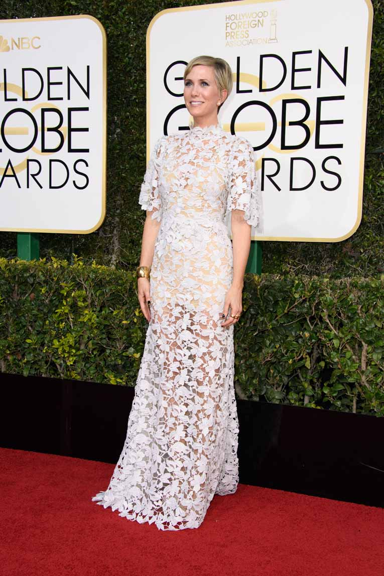 Actress Kristen Wiig attends the 74th Annual Golden Globes Awards at the Beverly Hilton in Beverly Hills, CA on Sunday, January 8, 2017.