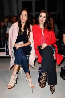BERLIN, GERMANY - JANUARY 18: (L-R) Johanna Klum and Loretta Stern attend the Laurel show during the Mercedes-Benz Fashion Week Berlin A/W 2017 at Kaufhaus Jandorf on January 18, 2017 in Berlin, Germany. (Photo by Matthias Nareyek/Getty Images for Laurel) *** Local Caption *** Johanna Klum;Loretta Stern