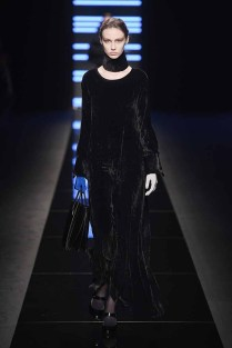 MILAN, ITALY - FEBRUARY 23: A model walks the runway at the Anteprima show during Milan Fashion Week Fall/Winter 2017/18 on February 23, 2017 in Milan, Italy. (Photo by Venturelli/Getty Images for Anteprima)