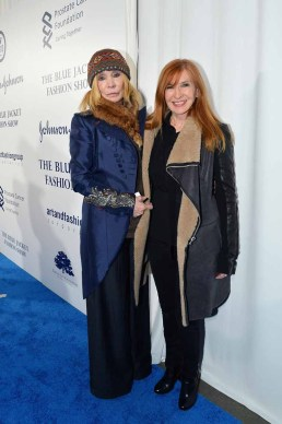 Maggie Norris, Nicole Miller== The Blue Jacket Fashion Show to Benefit the Prostate Cancer Foundation== Pier 59 Studios, NYC== February 1, 2017== ©Patrick McMullan== photo - Patrick McMullan/PMC== == Maggie Norris; Nicole Miller
