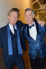 Nick Graham, Bill Nye== The Blue Jacket Fashion Show to Benefit the Prostate Cancer Foundation== Pier 59 Studios, NYC== February 1, 2017== ©Patrick McMullan== photo - Patrick McMullan/PMC== == Nick Graham; Bill Nye