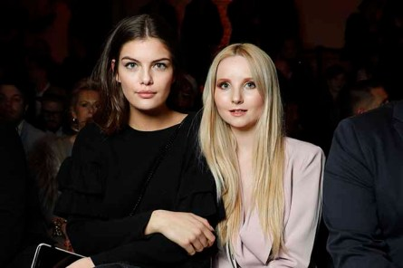 DUESSELDORF, GERMANY - JANUARY 29: Vanessa Fuchs and Anna Hiltrop attend the Thomas Rath show during Platform Fashion January 2017 at Areal Boehler on January 29, 2017 in Duesseldorf, Germany. (Photo by Andreas Rentz/Getty Images for Platform Fashion) *** Local Caption *** Vanessa Fuchs, Anna Hiltrop