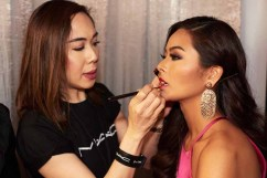 Maxine Medina, Miss Philippines 2016 gets makeup done by a MAC Cosmetics artist backstage during The 65th MISS UNIVERSE® Telecast airing on FOX at 7:00 PM ET live/PT tape-delayed on Sunday, January 29 from the Mall of Asia Arena. The contestants have been touring, filming, rehearsing and preparing to compete for the Miss Universe crown in the Philippines. HO/The Miss Universe Organization