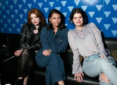 LONDON, ENGLAND - APRIL 21: (L-R) Nicola Roberts, Vanessa White and Pixie Geldof attend the launch night of the new partnership between blu, e-vaping pioneers, and Ministry of Sound at the flagship London club on April 21, 2017 in London, England. (Photo by John Phillips/John Phillips/Getty Images for blu) *** Local Caption *** Nicola Roberts; Vanessa White; Pixie Geldof