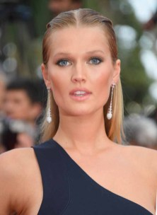 """CANNES, FRANCE - MAY 24: Toni Garrn attends the """"The Beguiled"""" screening during the 70th annual Cannes Film Festival at Palais des Festivals on May 24, 2017 in Cannes, France. (Photo by Dominique Charriau/WireImage)"""