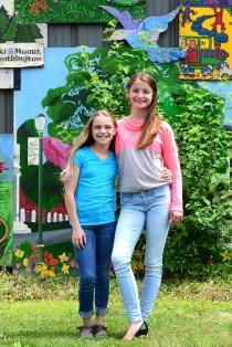 Haley Derwin with Pre-Teen Miss PlantsvilleIsabella Warner