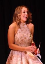 Morgan Mancini learns she is the new Miss Farmingbury's Outstanding Teen.