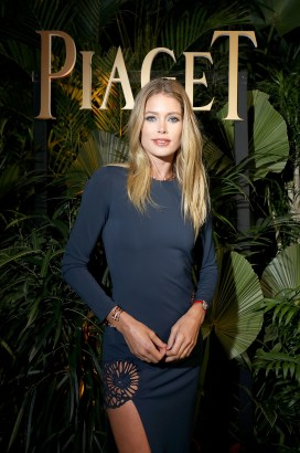 GENEVA, SWITZERLAND - JANUARY 15: Doutzen Kroes attends the #Piaget dinner at the Country Club during the #SIHH2018 on January 15, 2018 in Geneva, Switzerland. (Photo by Remy Steiner/Getty Images for Piaget) *** Local Caption *** Doutzen Kroes