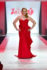 NEW YORK, NY - FEBRUARY 08: Actor Melissa Joan Hart onstage at the American Heart Association's Go Red For Women Red Dress Collection 2018 presented by Macy's at Hammerstein Ballroom on February 8, 2018 in New York City. (Photo by Slaven Vlasic/Getty Images for AHA) *** Local Caption *** Melissa Joan Hart