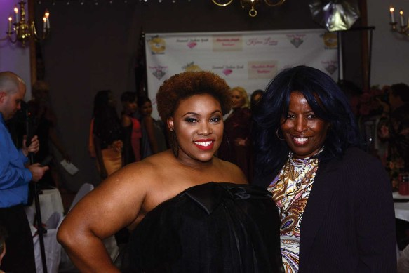 The Theo's of Hartford runway show at The Great Gatsby vs Harlem Nights Fashion Gala.