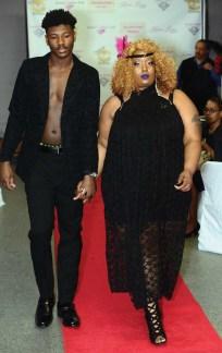 The Karlene Lindsay Designs runway show at The Great Gatsby vs Harlem Nights Fashion Gala.