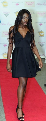 The Chocolate Angel Boutique runway show at The Great Gatsby vs Harlem Nights Fashion Gala.