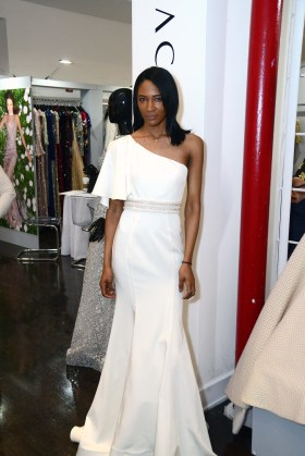 A bridal gown from Mac Duggal at The Knot Couture.