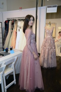 A bridal gown from Basix Black Label at The Knot Couture.