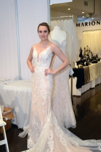 A weddimg gown from Ivoire by Kitty Chen at The Knot Couture