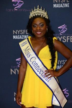 Miss Connecticut Caribbean United States Shanai Chambers.