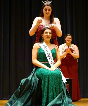 Ariana Puglisi is crowned Miss Naugatuck Valley