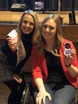Miss Wolcott Jillian Duffy and presenter Jillian Harpin