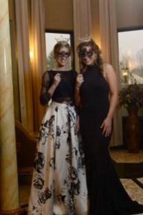 Miss Maine's Outstanding Teen Macy Grant, left, and Miss Connecticut's Outstanding Teen Morgan Mancini