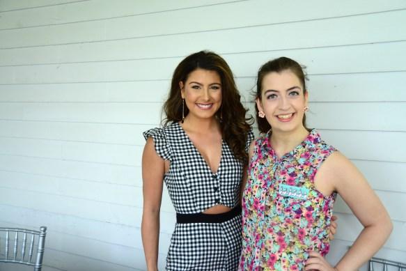 Miss Greater Watertown Alyssa Anderson, left, and Miss Forestville Jaymie Bianca.