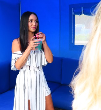Scheana Shay held a meet and greet at 'The Wonder of the Cocktail' at Foxwoods Resort Casino in Mashantucket, Conn.